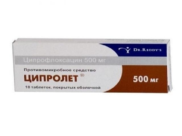 Ципролет отзывы при простатите простатит от стафилококка