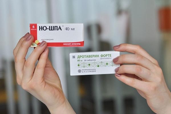 Но-шпа при простатите и аденоме простаты: курс лечения, отзывы мужчин