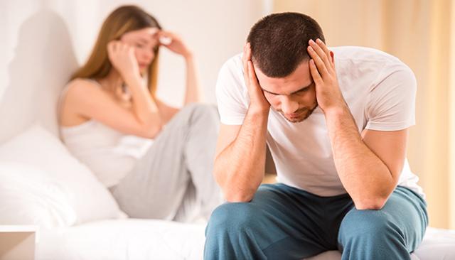 Нарушение потенции при стрессе