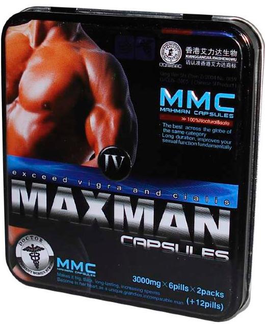 Препарат maxman iv для повышения потенции: описание и инструкция по применению