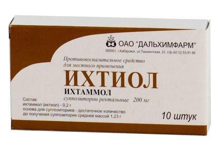 Ихтиоловые свечи при простатите: инструкция по применению, отзывы мужчин