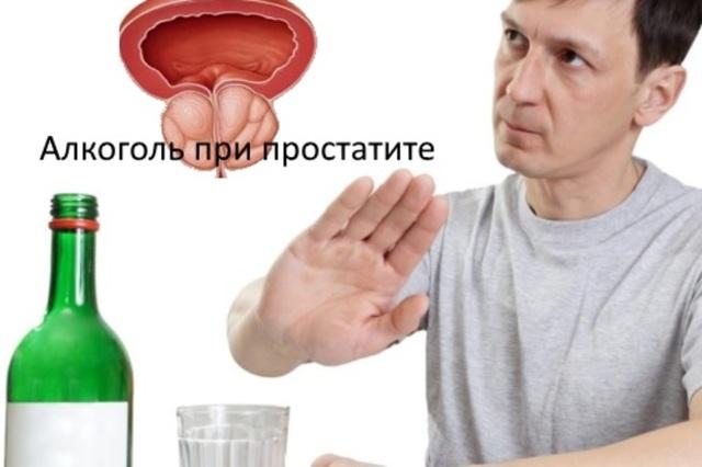 Можно ли пить при простатите аналіз на простатит
