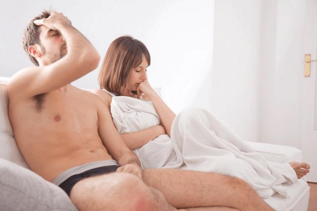 Потеря эрекции во время полового акта: причины, что делать мужчине?